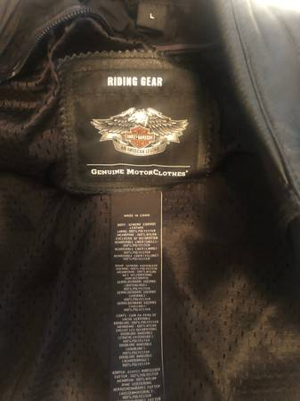 Photo Harley Davidson leather jacket - $300 (Gainesville)