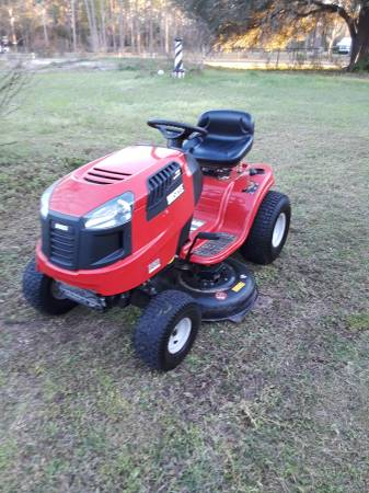 Photo Huskee riding lawn mower - $850