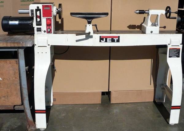 Photo JET 16quot x 42quot HD Wood Lathe With Electronic Variable Speed JWL-1642EVS - $1340 (Jacksonville)