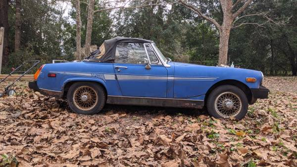 Photo MG Midget Special 1977 for parts - $1 (Archer)
