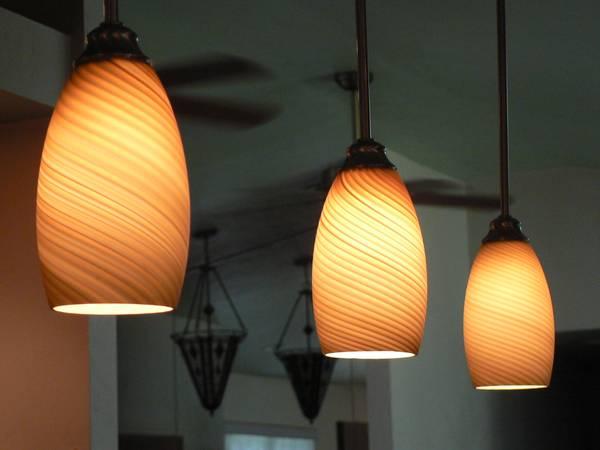 Photo Murano Glass Globes - $75 (Gainesville)