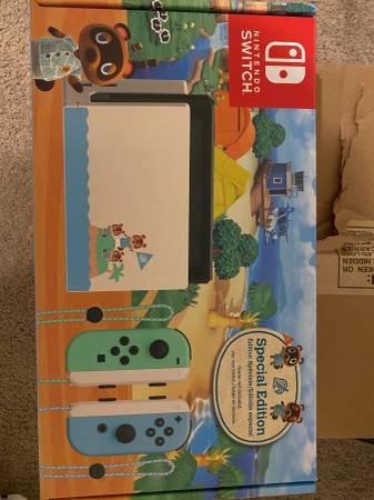 Photo Nintendo Switch Animal Crossing New Horizon Special Edition - 32GB - $320 (Gainesville)