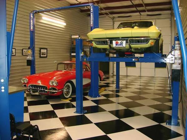 Photo Rotary CAR LIFT 4 Post Drive On Service 2 Post Mechanic Car Hoist Many - $2,891 (Naples)