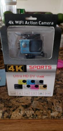 Photo SPORT PRO WIFI ACTION VIDEO CAMERA 4K 1080P 30FPS - $20 (Casselberry)