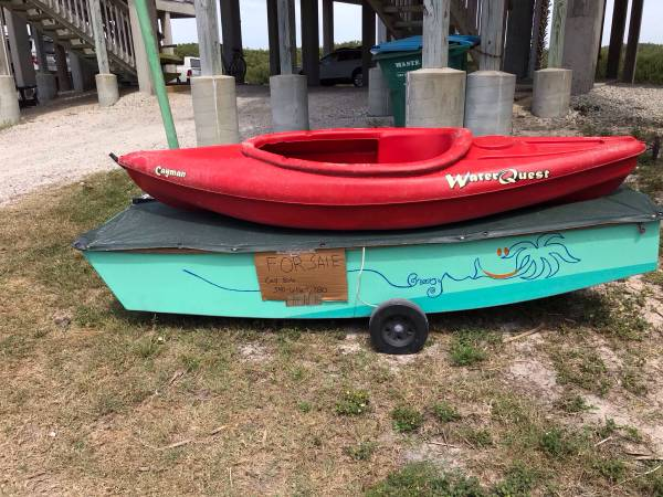Photo Sail boat AND kayak both for $600, great Easter gifts Great beginner boats - $600 (Cedar Key)