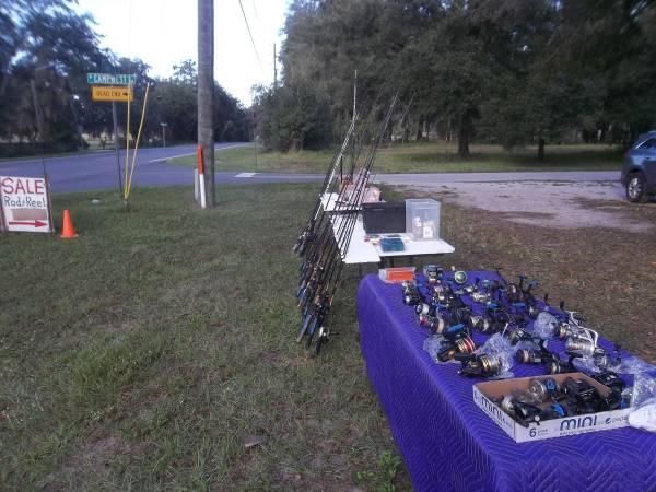 Photo Sale - Fishing Rods and Reels, Fresh  Salt Water (Dunnellon, Fl) (Dunnellon, Fl)