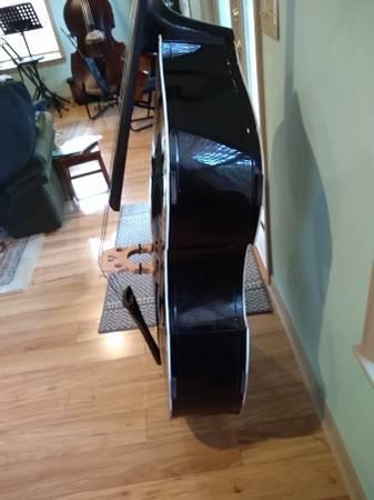 Photo Upright Bass, upgrades, extras - $750 (Gainesville)