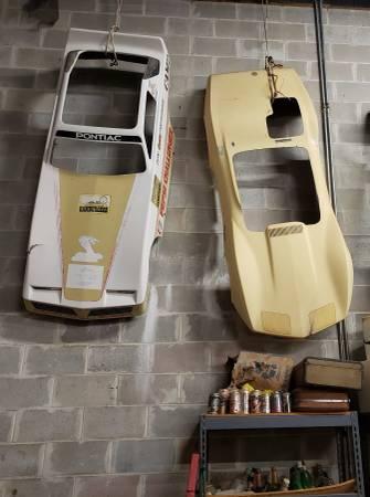 Photo Vintage and Rare Go Kart Bodies Firebird Dragster, CorvetteStingray - $300 (125 Halfmoon Trail, Melrose Florida)