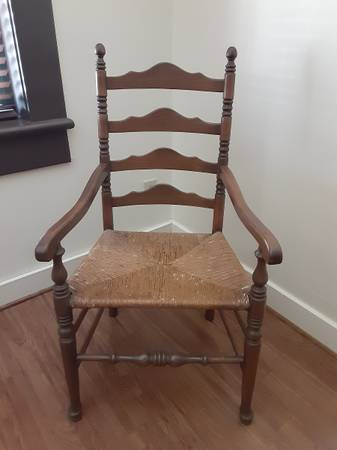 Photo Ethan Allen Early American style 2 chairs - $295 (Galveston)