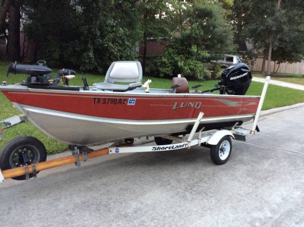 Photo Lund Boat with Mercury 35 hp Four Stroke - $5,900 (The Heights)