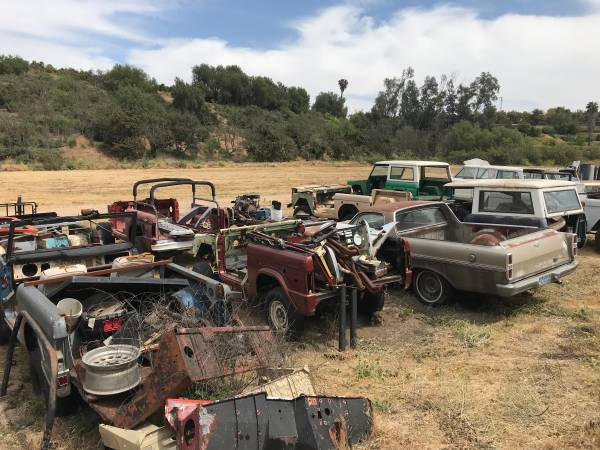 Misc. Vintage Ford Bronco Parts For Sale For Early 66 To ...