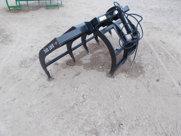 Photo NEW Dirt Dog 539  639 Tractor Grapples (Magnolia)