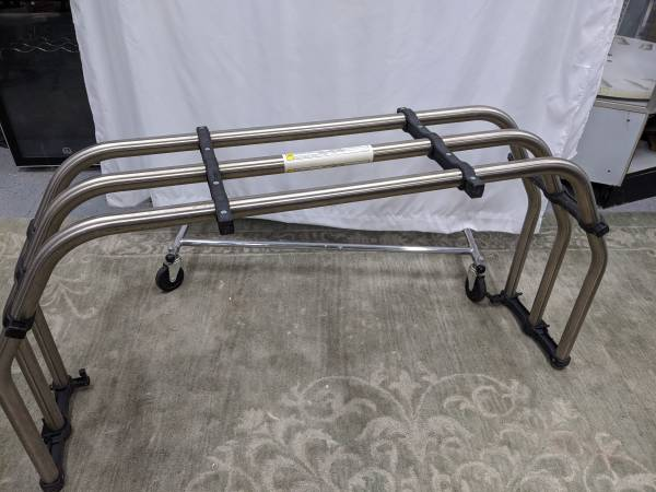 Photo Pickup Truck Bed Extender, Stainless, Exc - $150 (Tomball, Tx)