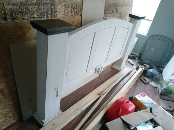 Photo Queen Head and Foot Boards - $60 (Galveston)