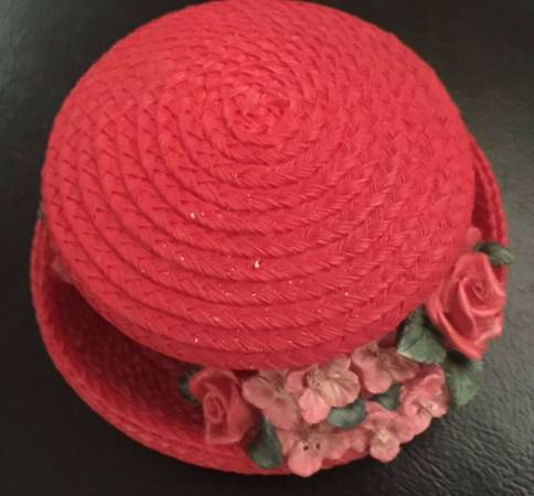 Photo Red Hat Trinket Box NEW (Cute) - $8 (Houston)