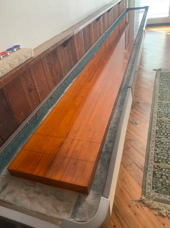 Photo Shuffleboard Table (Galveston)
