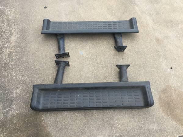 Photo Side steps for Jeep Wrangler - $50 (Hitchcock Texas)