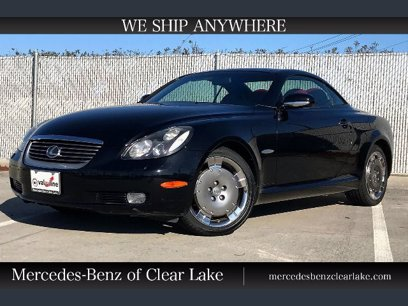 Photo Used 2005 Lexus SC 430 Convertible for sale