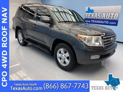 Photo Used 2009 Toyota Land Cruiser  for sale
