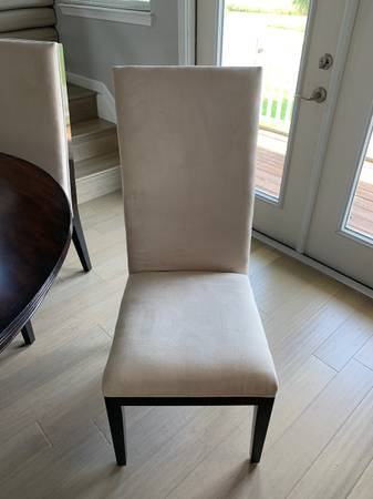 Photo Z Gallerie Dining Chairs - $240 (Galveston)