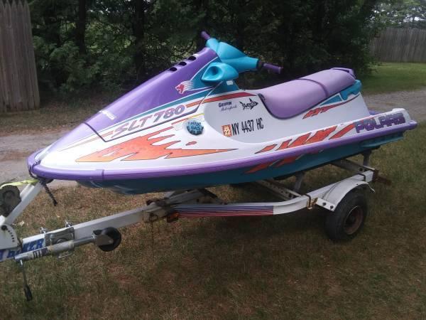 Photo 1996 Polaris SLT 780 jet ski watercraft sea doo - $2,100 (Plattsburgh)