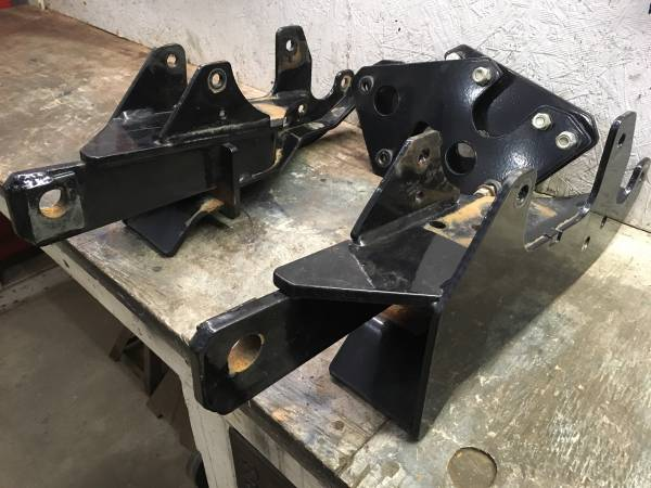 Photo FISHER PLOW PLATES OFF OF A 2015 GMC 3500 - $300 (Queensbury)