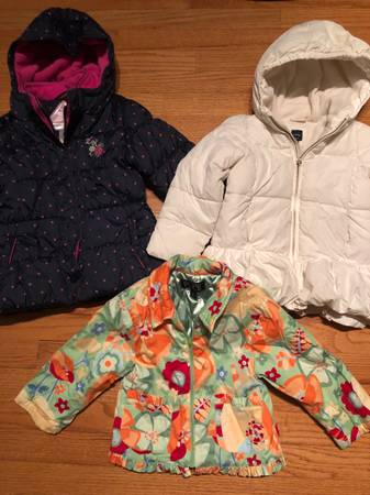 Photo Girls Winter Jackets - Size 4T 3 Items - $15 (Ballston Spa)