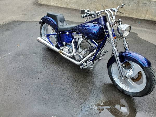 Photo Harley Davidson soft tail - $5,999 (LUDLOW)