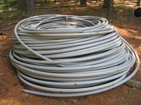 Photo Heavyduty Plastic Pipe for Water Line1-14quotApprox. Over 5,00039  NEW - $550 (Corinth)