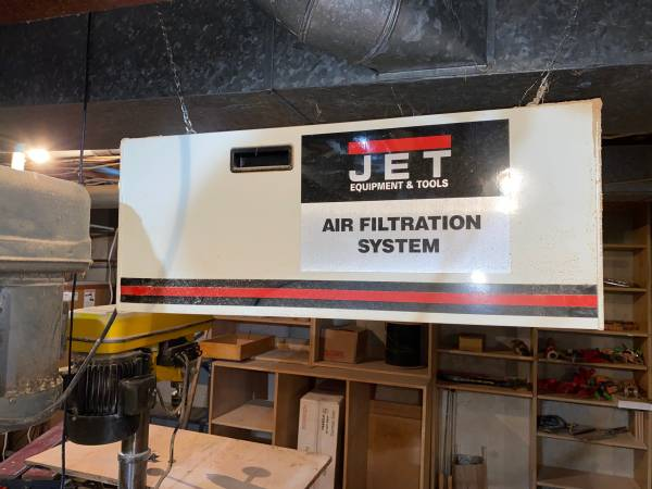 Photo Jet AFS-1000 Air Filtration System, 3-Speed with Timer - $150 (Manchester)
