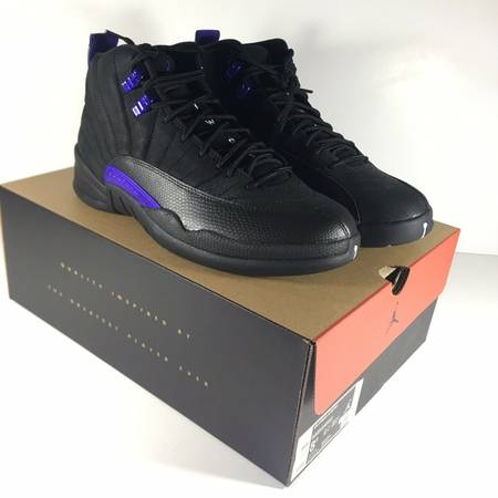 Photo Jordan 12 Retro Black Dark Concord Mens Size 8.5 NEW - $240 (South Glens Falls)