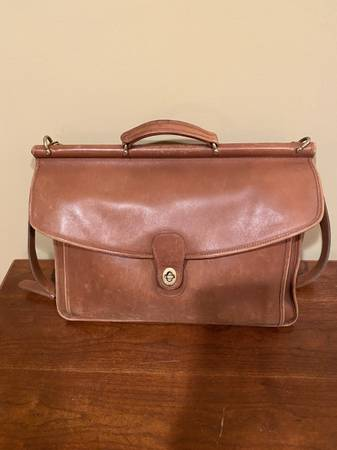 Photo Men39s Coach Leather Briefcase - $65 (Ballston Spa)