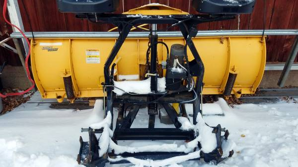 Photo NEW PRICE Fisher snow plow - $1500 (Bakers Mills)