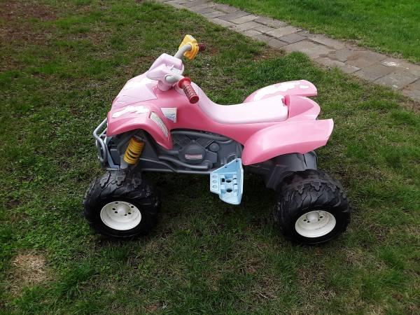 Photo POWER WHEELS BARBIE ATV - $75 (Glens Falls)