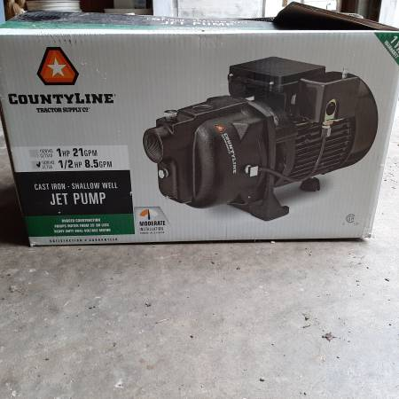 Photo PUMP Shallow well 12 hp new, never used - $250 (Berne, NY)