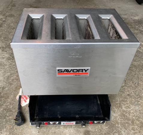 Photo Savory 4 Slot Mdl PD-4 Commercial Pop Down Toaster - $200