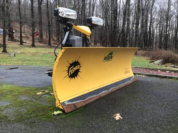 Photo Snow Plow, Fisher, 7.5, HD2 Reduced  - $2700 (Brant Lake,N.Y.)