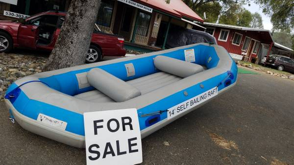 Photo 1439 Vanguard Self Bailing whitewater raft - $1050 (Lotus)