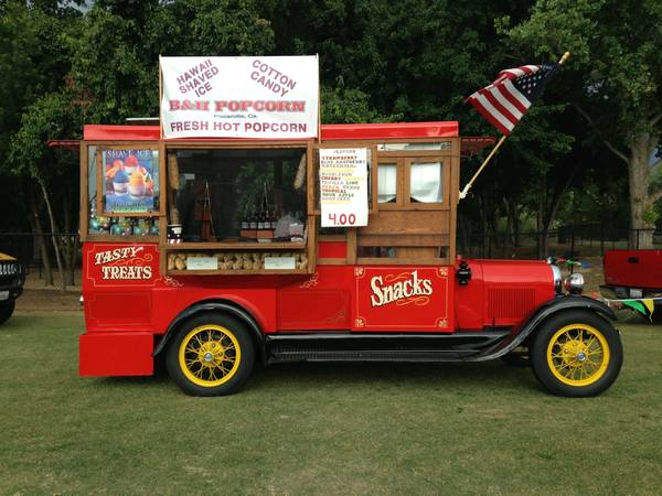 Photo 1930 Model AA Popcorn Truck and business - $75,000 (placerville)
