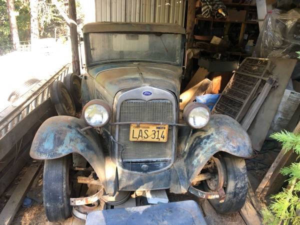 Photo 1930 Model A Coupe Project  Grandpa39s  - $7,500 (somerset)