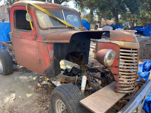 Photo 1939 Chevy project - $1200 (American canyon)