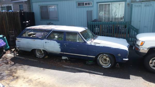 Photo 1965 Chevy Chevelle 4door Wagon - $7000 (Grass Valley)