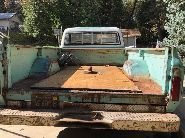 Photo 1969 lb Chevy truck - $1800 (Pine Grove)