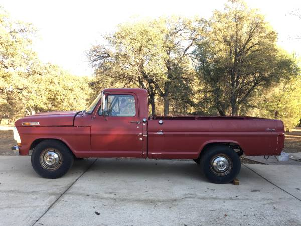 Photo 1972 Ford F-250 Custom - $3,200 (Placerville)