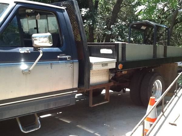 Photo 1987 Ford F250 wlift bed - $4,700 (Placerville)