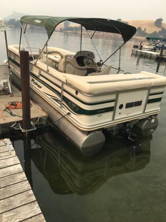 Photo 2005 Fisher Pontoon Boat - $21,000 (Copperopolis)