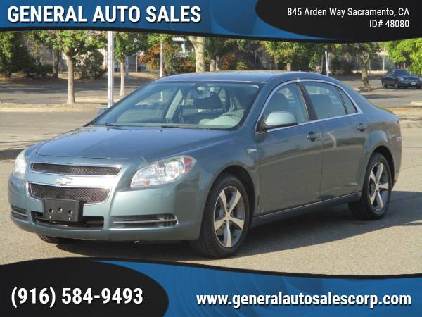 Photo 2009 CHEVROLET MALIBU HYBRID  62K MILES ONLY  ONE OWNER LIKE NEW - $7,990 ($990 Down Most Cars)