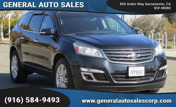 Photo 2013 CHEVROLET TRAVERSE  LIKE NEW  FULLY LOADED  3RD ROW SEAT - $9,990 ($990 Down Most Cars)