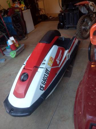 Photo 650sx jet ski - $1800 (Foresthill)