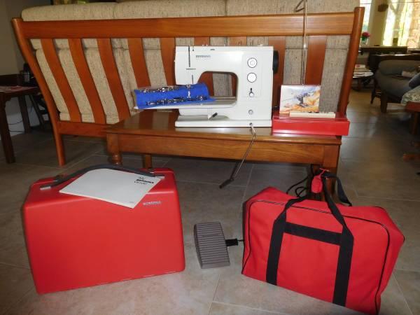Photo Bernina 830 Record Sewing Machine - $800 (Granite Bay)